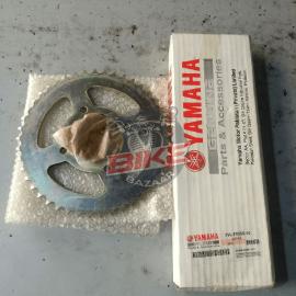 Genuine chain sprocket ybr